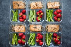 Salmon and Asparagus Meal Prep