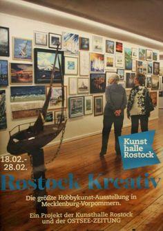 Rostock kreativ 2016 | Bilder, Aquarelle vom Meer & mehr - von Frank Koebsch