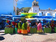 Copacabana, Bolivia on Lake Titicaca