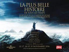 """29.02.2016 - """"Les Dix Commandements"""" : la comédie musicale de retour à Paris"""