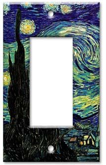 Van Gogh - Starry Night decorative wall plate