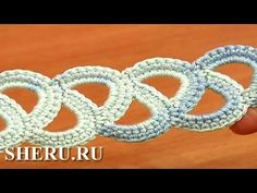 Crochet Leaf Cord Pattern Урок 39 Вязанный шнур крючком из чередующихся листиков - YouTube