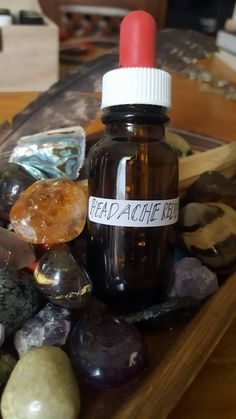 Organic Headache Relief Serum
