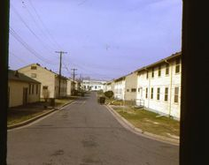 35mm Slide Fort Dix Barracks United States Army 1966 New Jersey Original