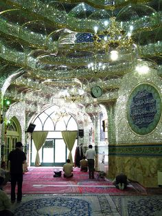 Mosque inside the Bazar - Tehran, Iran