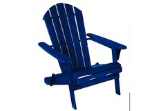 Living Accents Blue Folding Wood Chair $39.99 (acehardware.com)