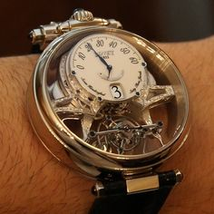 Bovet 1822 Chronometer Swiss hand crafted with 63 jewels