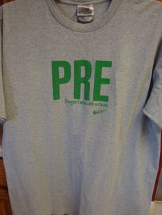 $38 shipped - sold within 30 minutes of listing! OREGON Ducks Steve Prefontaine Tee Shirt T-Shirt Nike XL EXTRA LARGE Pre #nike #GraphicTee