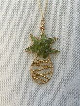 Handcrafted Mosaic Pineapple Necklace