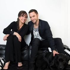 The hosts of #esc2016 with Messi ❤  @manszelmerlow  @thepetramede  Photo : Smålandsposten