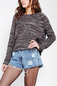 Ecote Sweet Jane Swingy Sweater #urbanoutfitters