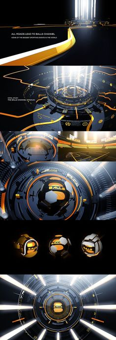 Balls Channel Re-Imaging 2014 on Behance: