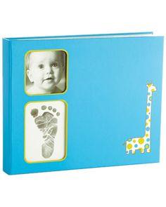 Pearhead Blue Babybook