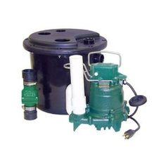Zoeller 105 Drain Pump System Zoeller 105 0001 1 3 Hp M53