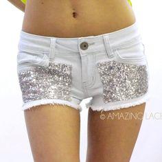 Seqiun High Waist Denim Jean Daisy Duke Cut Off Pocket Shorts Fringe Fashion | eBay