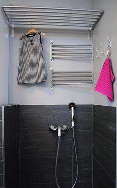 For when I have an actual laundry room.instead of a sink. Laundry Room Inspiration, Beautiful Bathroom Designs, Laundry Mud Room, Dream Rooms, Utility Room Inspiration, Bathroom Toilets, Beautiful Bathrooms, Laundry Room Design, Room