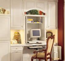 work center in the kitchen