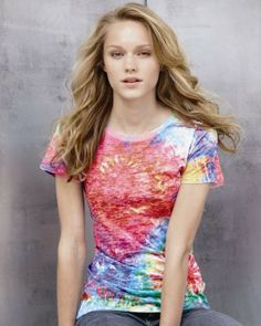 tie dyed burnout tshirt - the '90s are back!