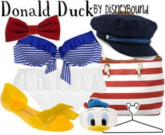Donald Duck Swimsuit
