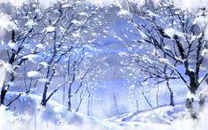 Vector Wallpaper Winter Foto #14 - 1920x1200
