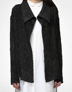 Handwoven Velvet Over-Jacket-AKAARO- img5