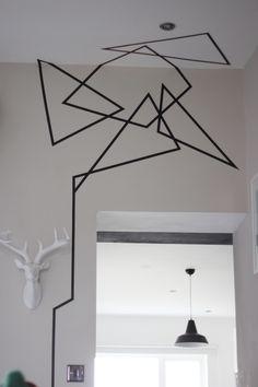 Deadly wall art