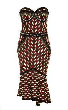 Vodoo Dress by Lena Hoschek for Preorder on Moda Operandi