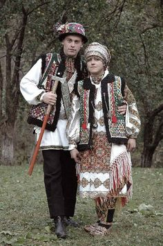 Hutsulshchyna. Hutsuls wedding in Ukrainian Carpathians.