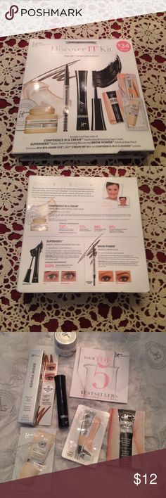 It cosmetics discovery it kit new in box It cosmetics discovery it kit new in box Michael Kors Makeup Eyebrow Filler