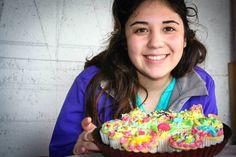 Orgullosa de los primeros cupcakes que hice.