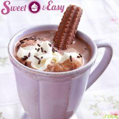 Die beste heiße #Schokolade für kalte Tage! Weil Süßes der #Seele gut tut.