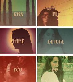 Lana Del Rey  #LDR #lyrics  #Summertime_Sadness