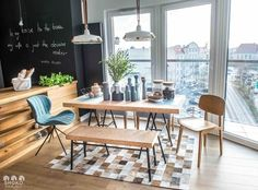 Home Decoration Ideas and Design Architecture. DIY and Crafts for your home renovation projects. Kitchen Dinning Room, Farmhouse Kitchen Tables, Modern Farmhouse Kitchens, Modern Farmhouse Decor, Dining Table, Sinnerlig Ikea, Contemporary Kitchen Tables, House Decoration Items, Studio