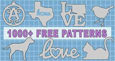 Letter Stencils (Free Printable Number and Alphabet Stencils) Free Stencil Maker, Free Stencils, Monogram Maker, Scroll Saw Patterns Free, Cross Patterns, Art Patterns, State Outline, Map Outline, Word Art Design