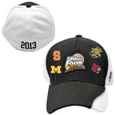Top Of The World 2013 NCAA Men's Basketball Final Four Team One-Fit Hat - Black  Price: $27.95
