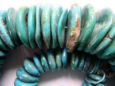 Turquoise. Kingman Mine. Arizona.  My favorite tones are from  Kingman mine.