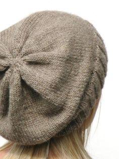 DK Eco Slouchy Hat Knitting Pattern | Craftsy
