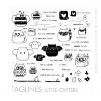 clear and simple - taglines: critters (love this whole collection, the dies, the bigger sized stamps...swoon!) :)