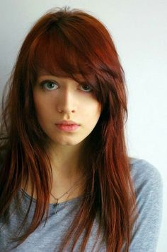 long hairstyles with bangs 2014