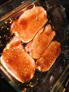 Asian Ginger Sesame Pork Chop Recipe  Looks Yummy!!!  :0)