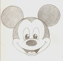 Easy to draw mickey mouse how to draw mickey mouse easy drawing guides best way to . easy to draw mickey mouse Disney Drawings Sketches, Easy Disney Drawings, Disney Character Drawings, Art Drawings Sketches Simple, Cute Easy Drawings, Easy Cartoon Drawings, Art Drawings For Kids, Drawing Tips, Drawing Drawing