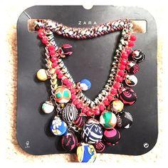 Zara necklace New with tags Zara statement necklace Zara Jewelry Necklaces