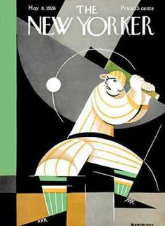 New Yorker cover from 1926