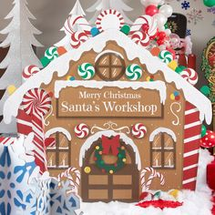 Santa's Workshop Standee - Shindigz