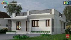 New house exterior ideas philippines ideas Flat Roof House Designs, House Roof Design, Village House Design, Kerala House Design, New Model House, Model House Plan, My House Plans, Single Floor House Design, Modern Small House Design
