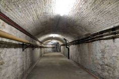 One of the tunnels situated underneath Temple Meads train station Train Station, Bristol, The Good Place, Temple, The Secret, Explore, Architecture, Places, Victorian