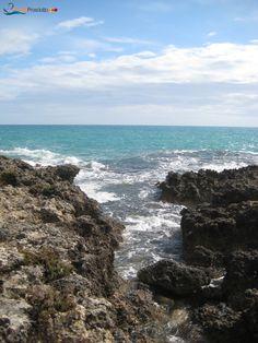 Torre Colimena's cliff, Salento, Puglia
