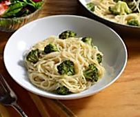 Angel Hair with Parmesan and Broccoli