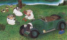 satoshi kitamura, sheep in wolves clothing