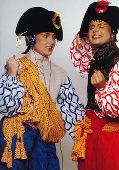 Vivienne Westwood Pirates 1981. I had some of those pieces... but long gone